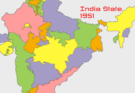 List of the Indian States and Union Territories in 1947-1956
